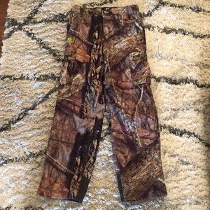 Boys XL Mossy Oak Hunting Pants